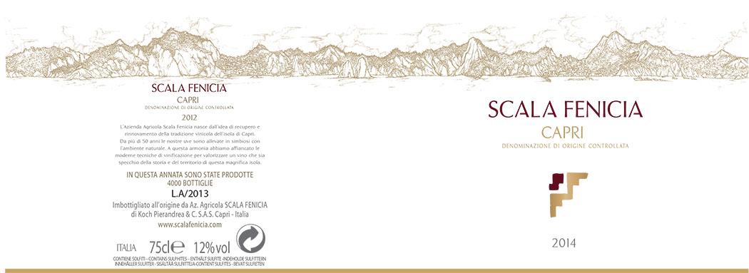 Etichetta scala fenicia 2014